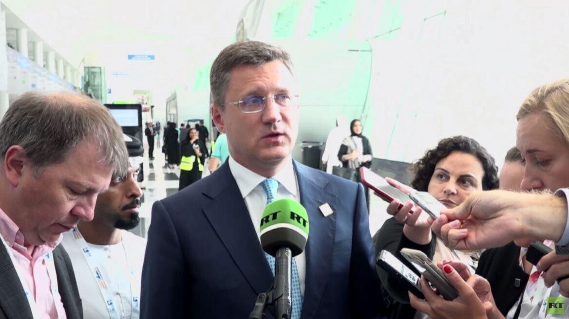 روسيا والسعودية.. لقاء بين وزيري الطاقة