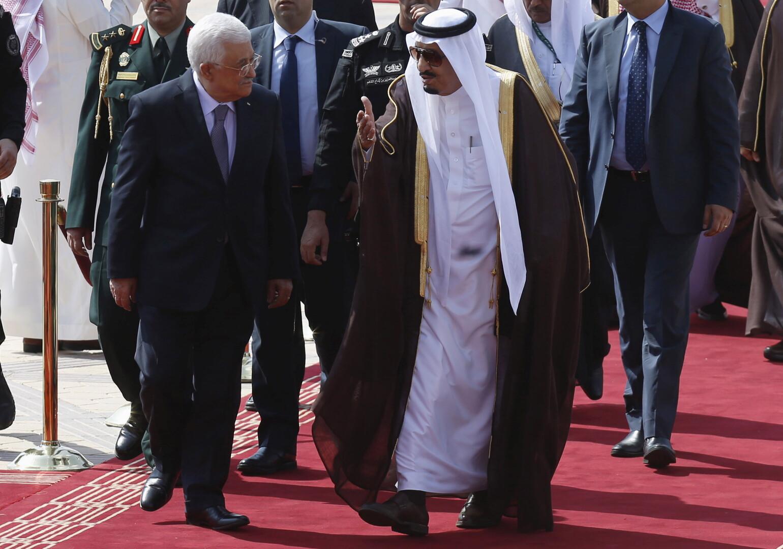 الملك سلمان أبلغ الرئيس الفلسطيني أن إعلان نتنياهو ضم أراض فلسطينية باطل