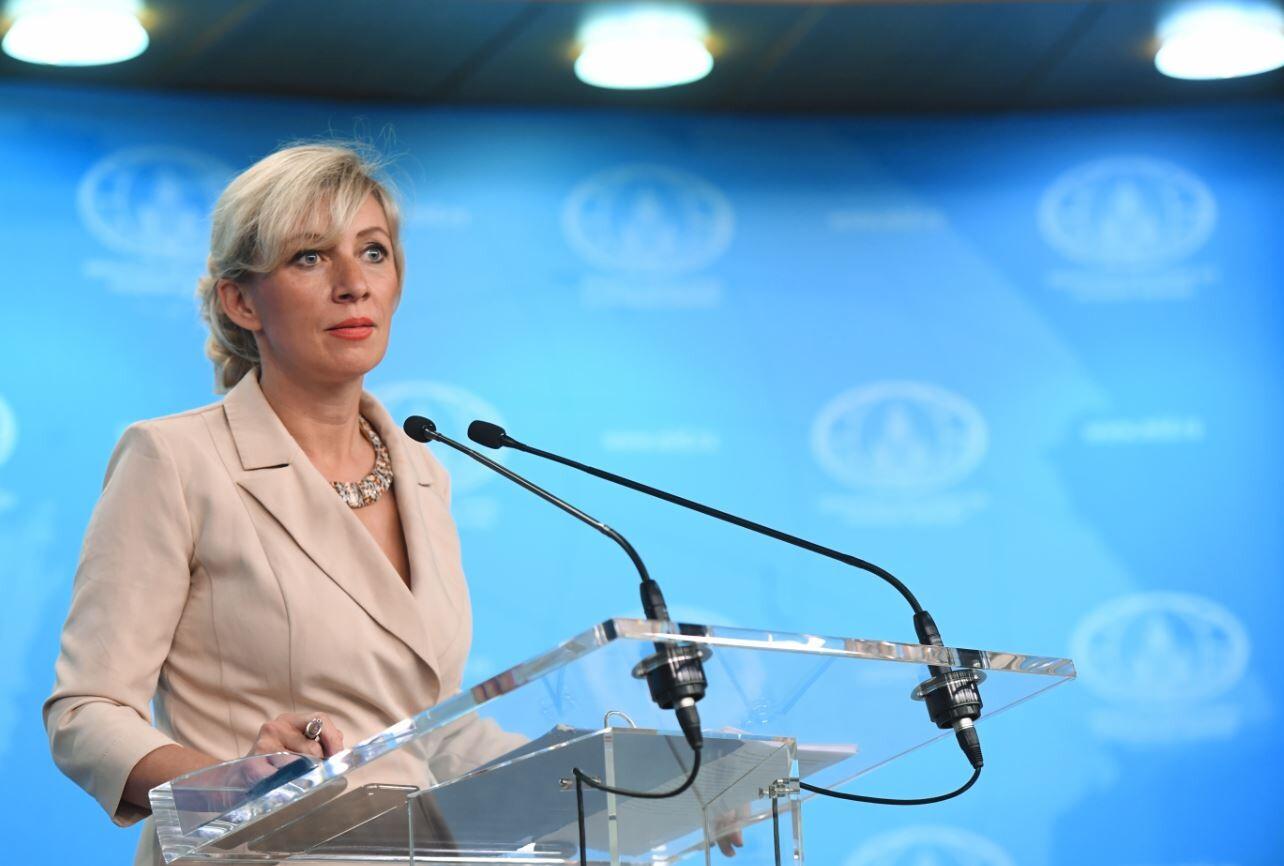 المتحدثة باسم وزارة الخارجية الروسية ماريا زاخروفا