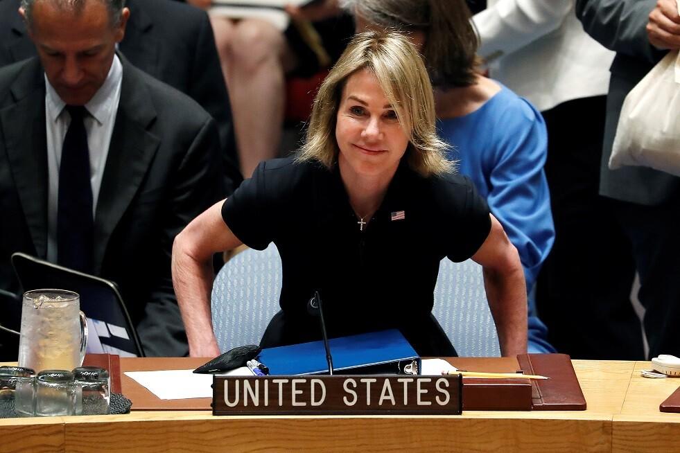 كيلي كرافت المندوبة الأمريكية الجديدة لدى الأمم المتحدة