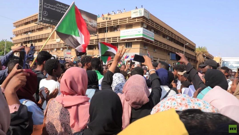 تظاهرة بالخرطوم لقوى الحرية والتغيير