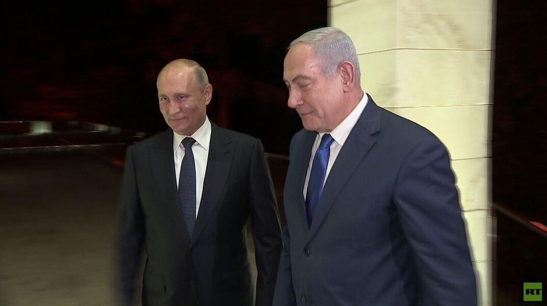 بوتين لنتنياهو: يجب احترام سيادة سوريا