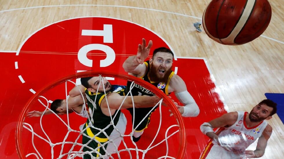 إسبانيا تتغلب على أستراليا بعد وقتين إضافيين وتبلغ نهائي مونديال السلة (فيديو)