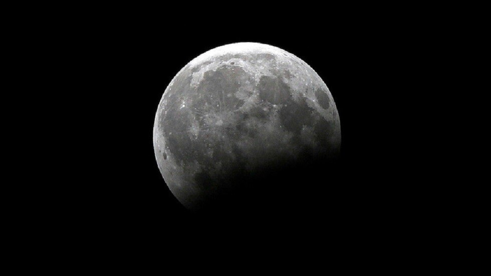 Friday night we see a small and very rare moon in our sky