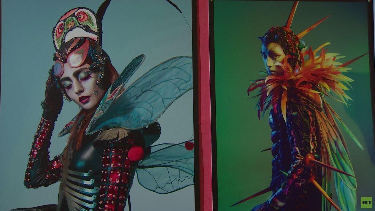 معرض للأزياء المسرحية المبتكرة في موسكو