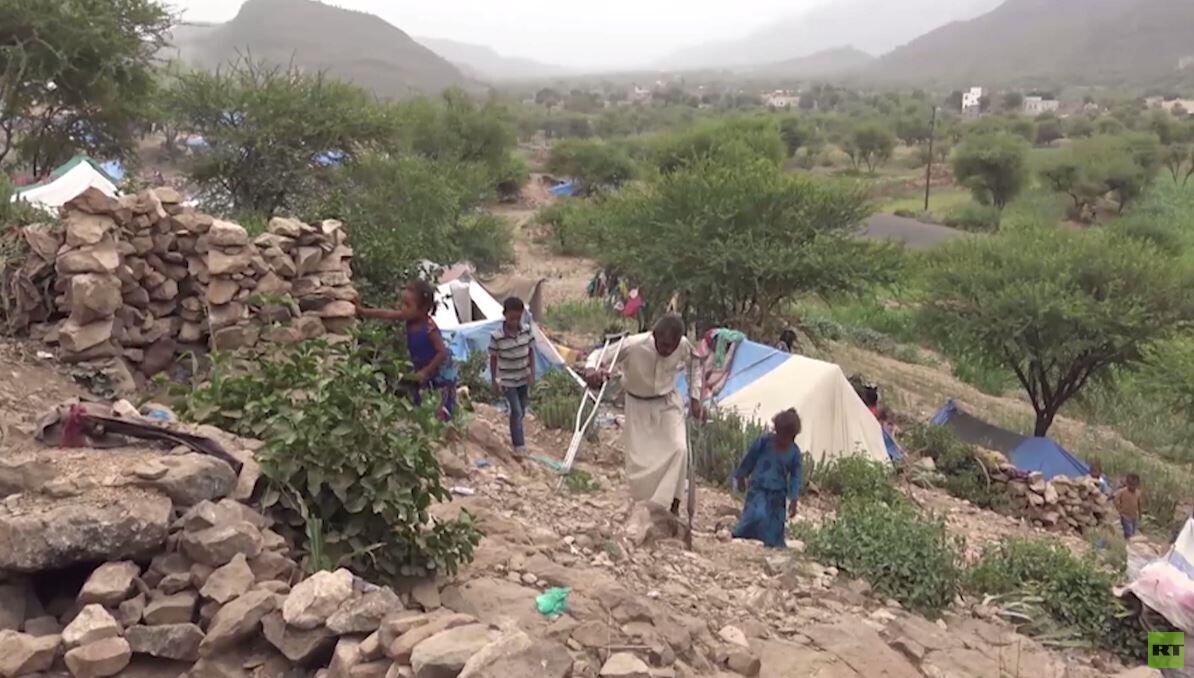تفاقم أزمة النازحين في اليمن