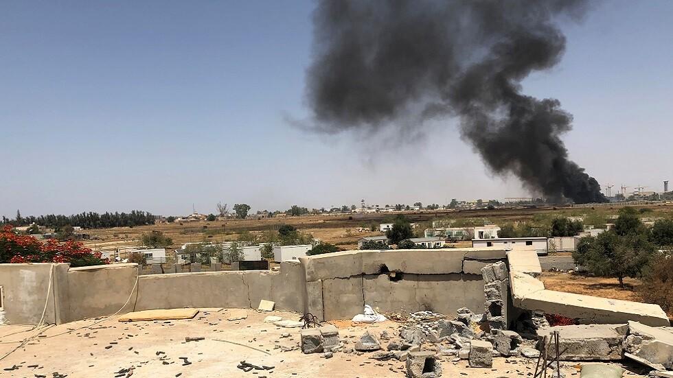 القتال في ليبيا (صورة أرشيفية)