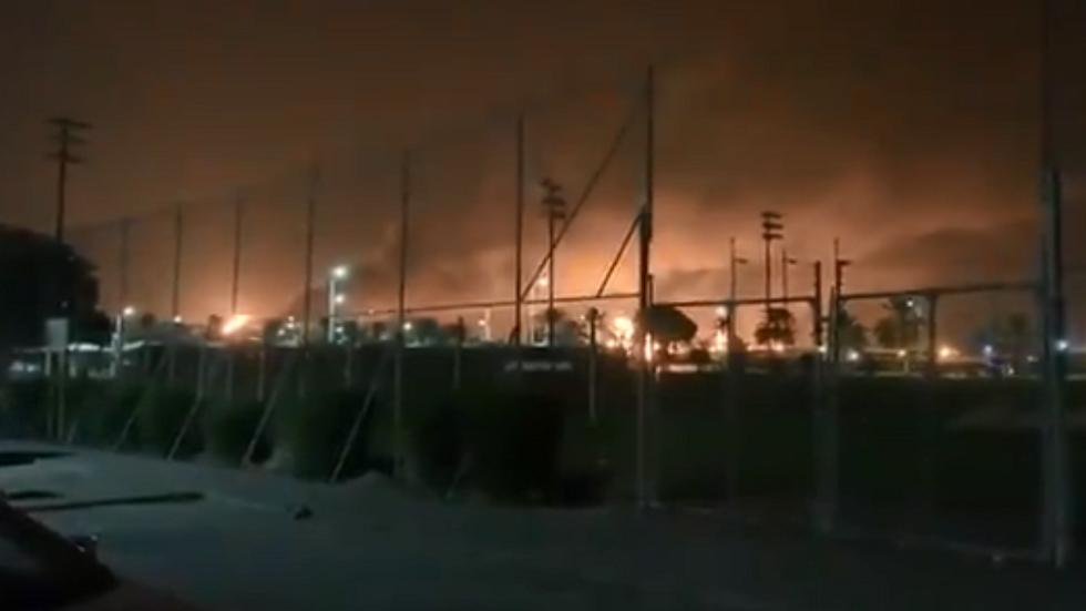 مقاطع فيديو توثق اللحظات التي أعقبت حريقي