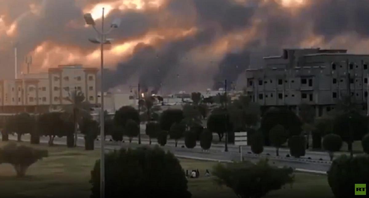 فيديو يوثق هدير طائرة مسيرة لحظة استهدافها معملا تابعا لـ