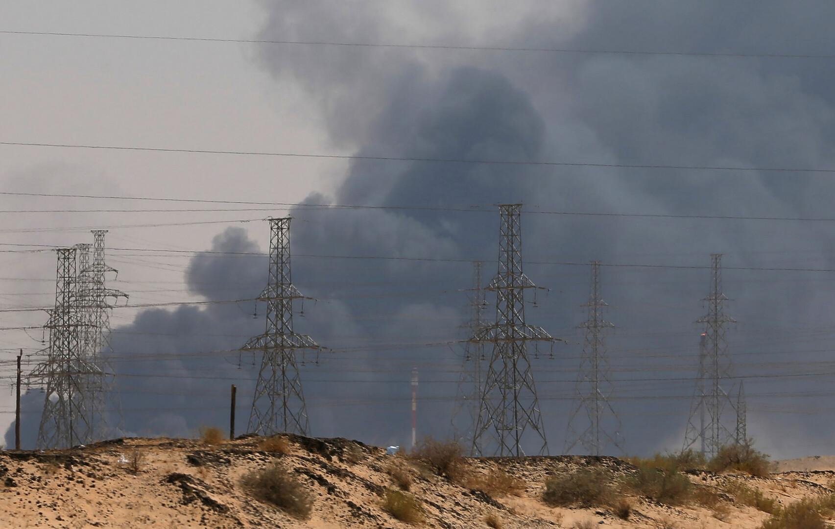 التلفزيون السعودي: صادرات النفط من المملكة مستمرة رغم الهجوم على