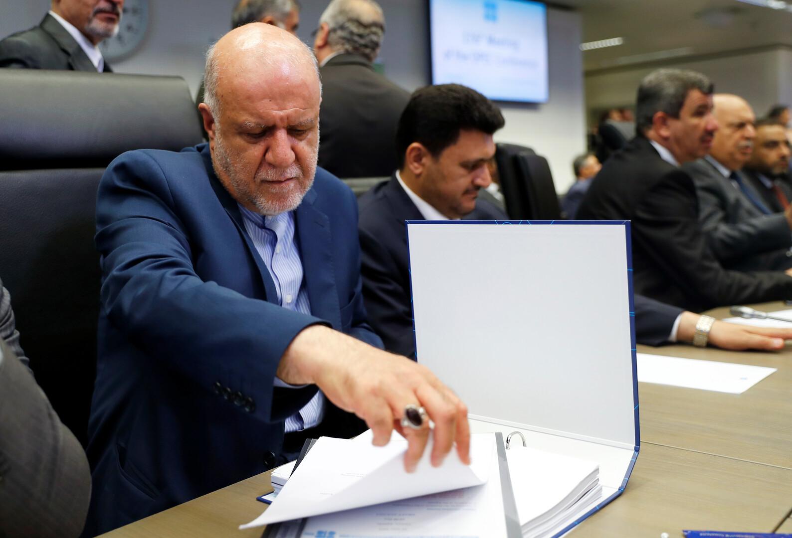 إيران توقع عقدا مع شركة محلية لتطوير حقل غاز مشترك مع قطر