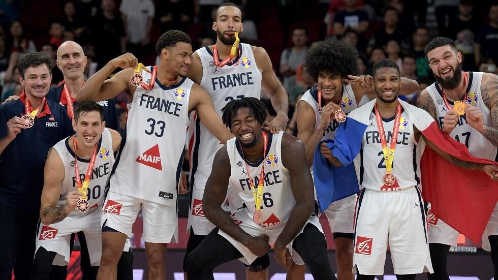 فرنسا تحرز برونزية مونديال السلة على حساب أستراليا (فيديو)
