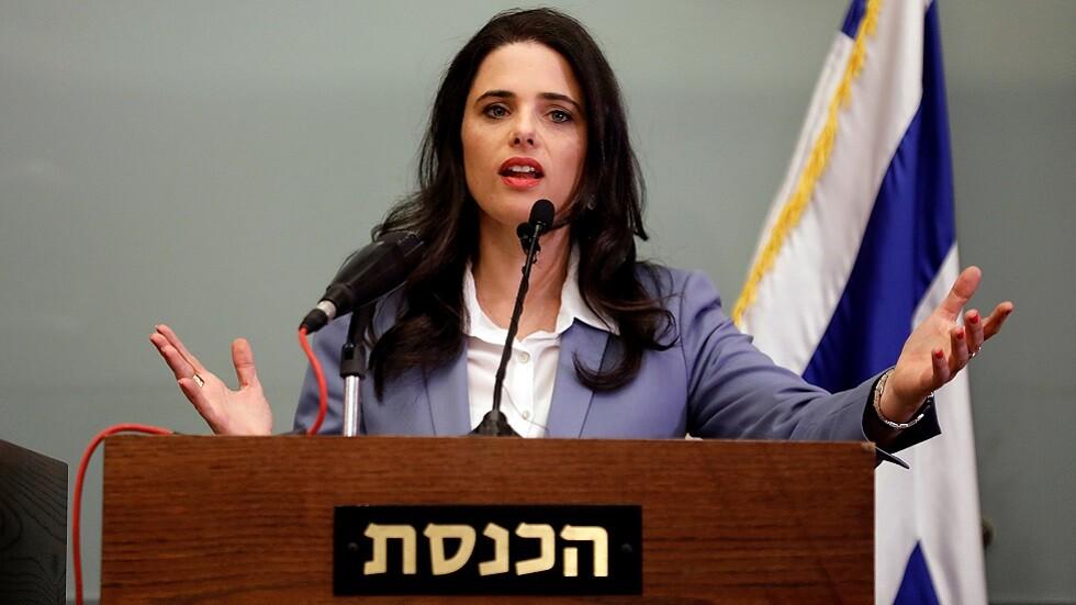 زعيمة تحالف يميني إسرائيلي: