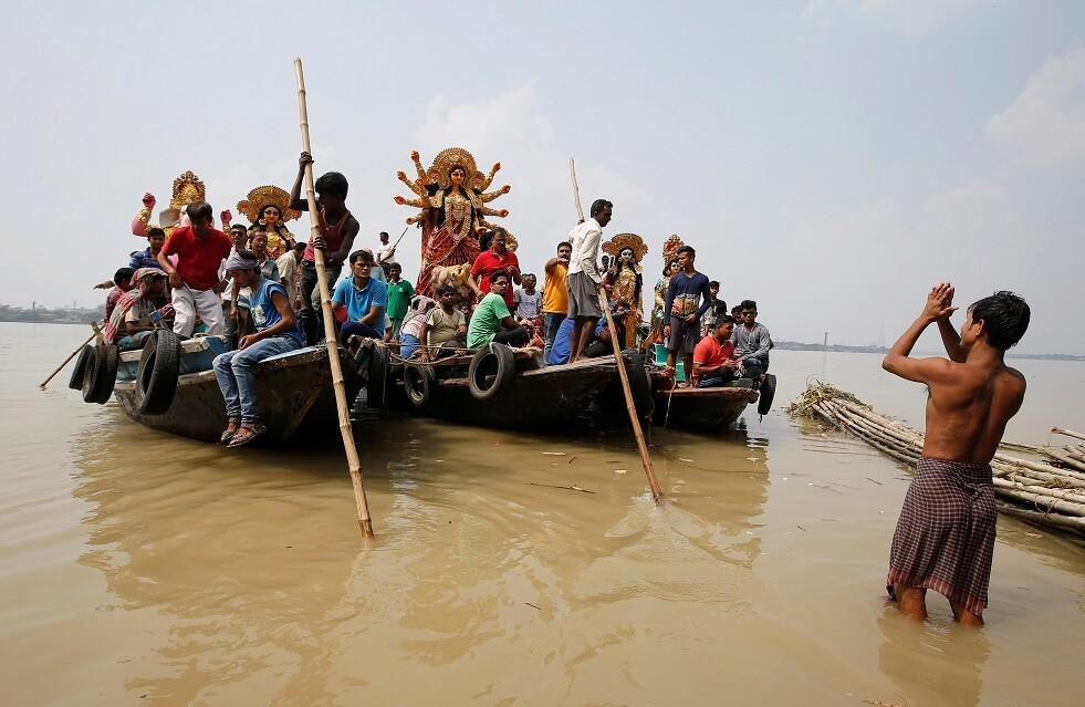 مصرع أكثر من 11 سائحا بالهند غرقا