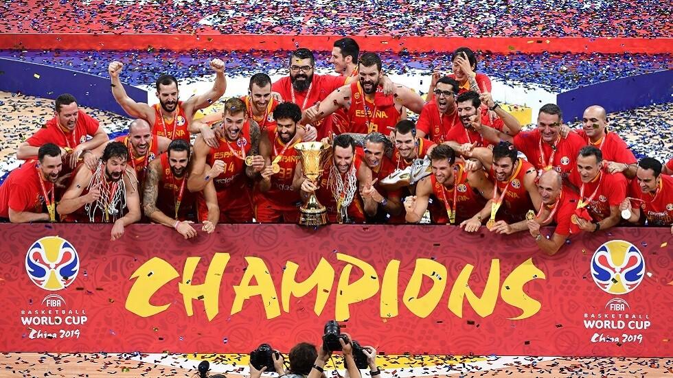 إسبانيا بطلة العالم بالسلة (فيديو)