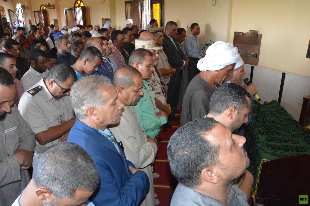 جنازة مهيبة لمجند مصري قضى في العريش