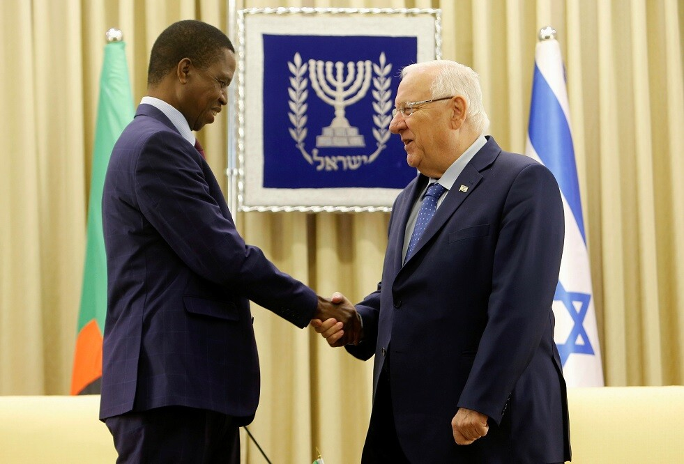 رئيس زامبيا متهم بتهريب مخدرات من إسرائيل