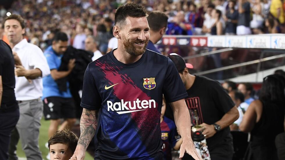 رسميا.. ميسي في قائمة برشلونة لمواجهة دورتموند