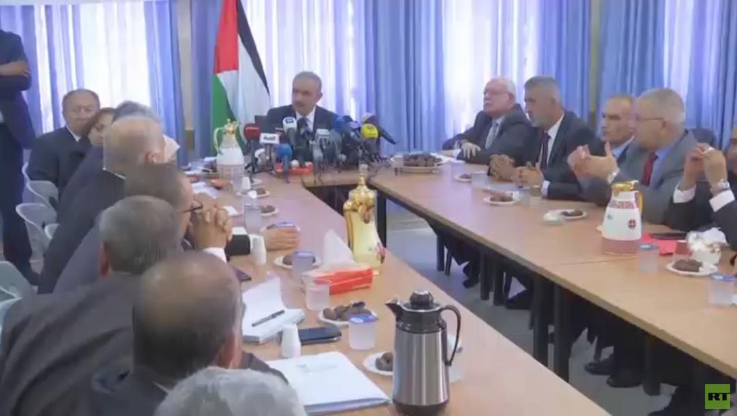 الحكومة الفلسطينية تعقد اجتماعا بالأغوار