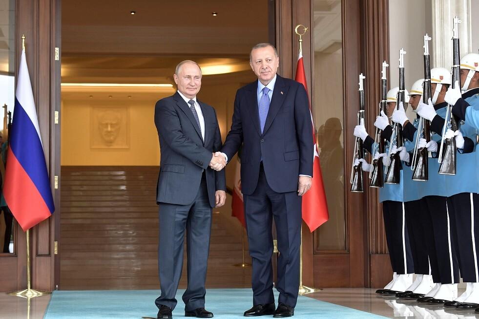بوتين يطلب من أردوغان الرد على مسودة اتفاق للتعامل بالعملات الوطنية