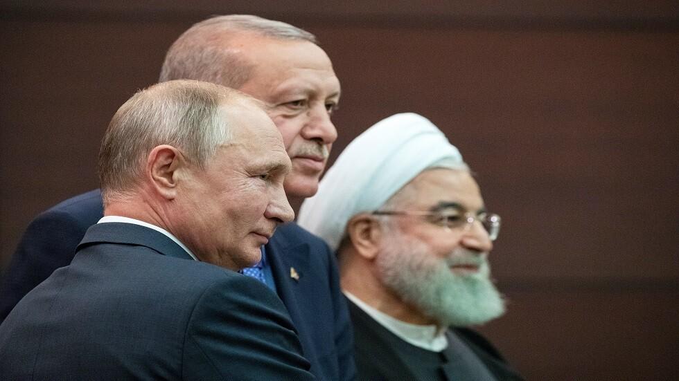 طهران تستضیف القمة السادسة لرؤساء إيران وروسیا وترکیا