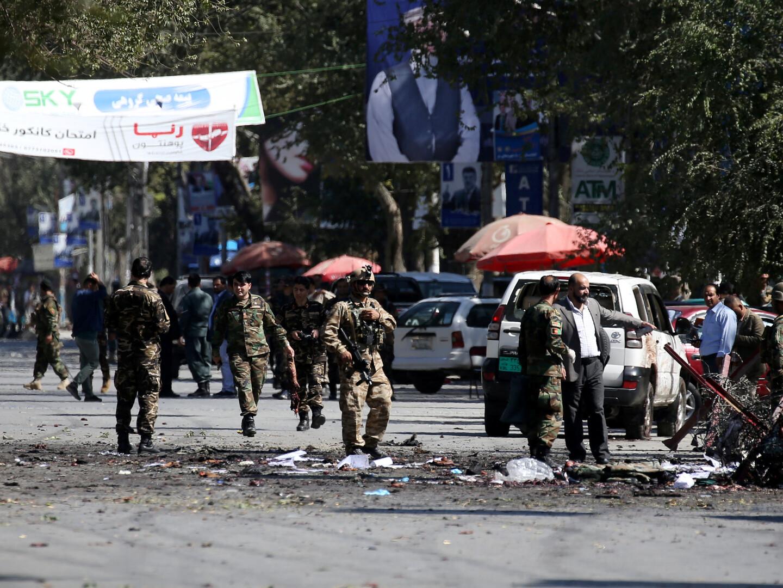 تفجير انتحاري قرب السفارة الأمريكية في كابل