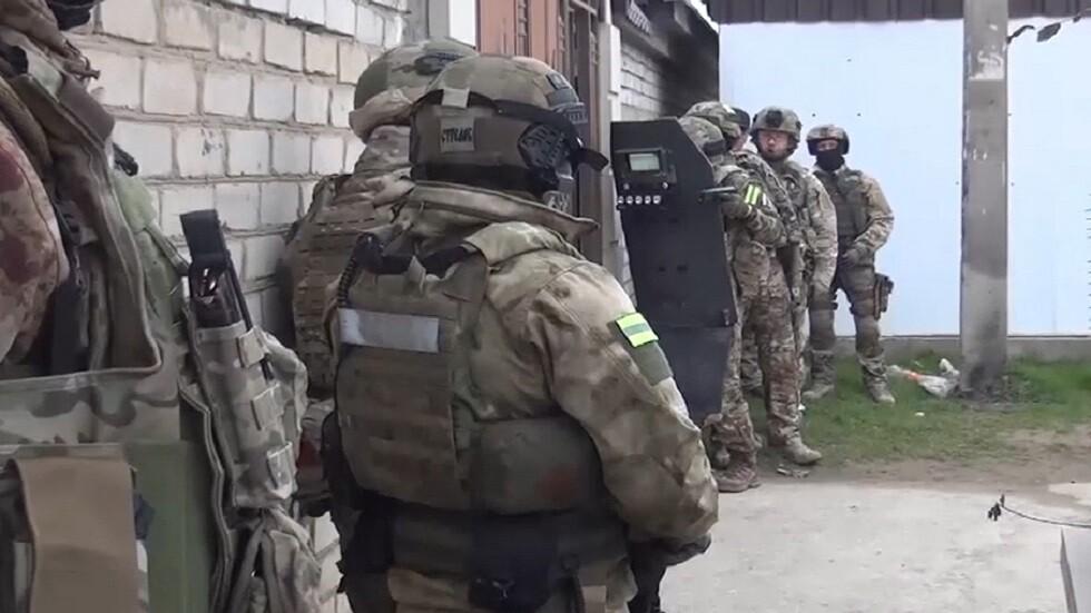 قوات الأمن تحاصر إرهابيين جنوب روسيا