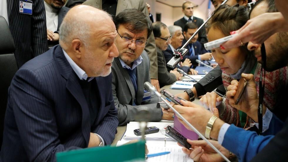 وزير النفط الإيراني لواشنطن: النفط ليس سلاحا إذا كنتم قلقين على إمدادات النفط