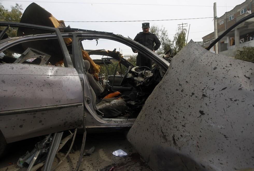 تفجير في جلال أباد -أرشيف-
