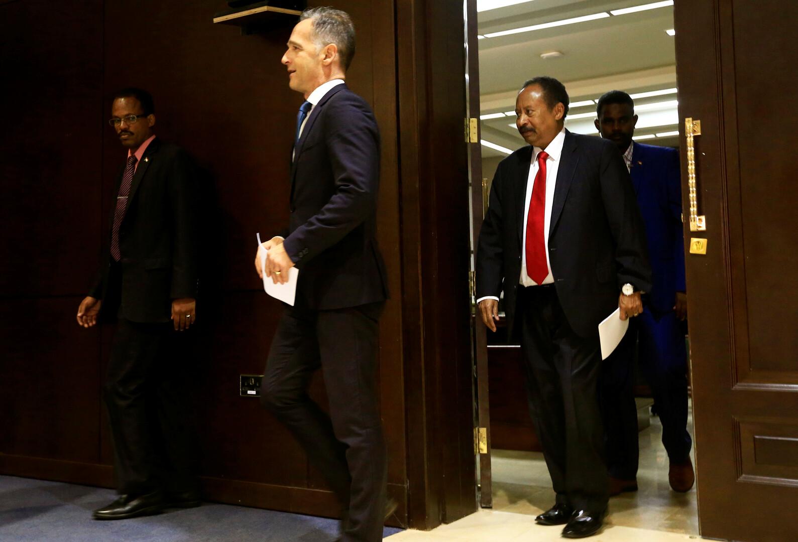 رئيس الوزراء السوداني عبدالله حمدوك- أرشيف