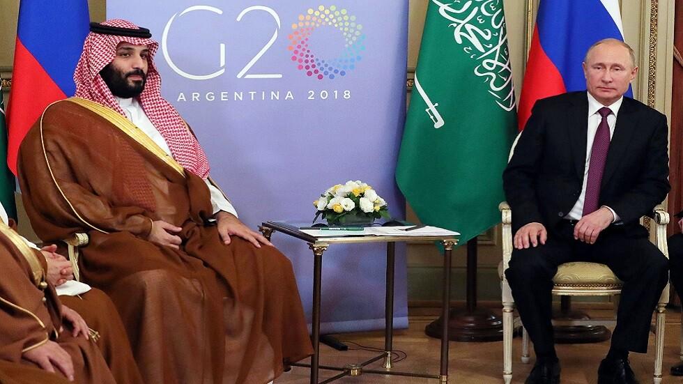 بوتين يعبر لولي العهد السعودي عن قلقه إزاء الهجمات على منشآت نفط بالمملكة