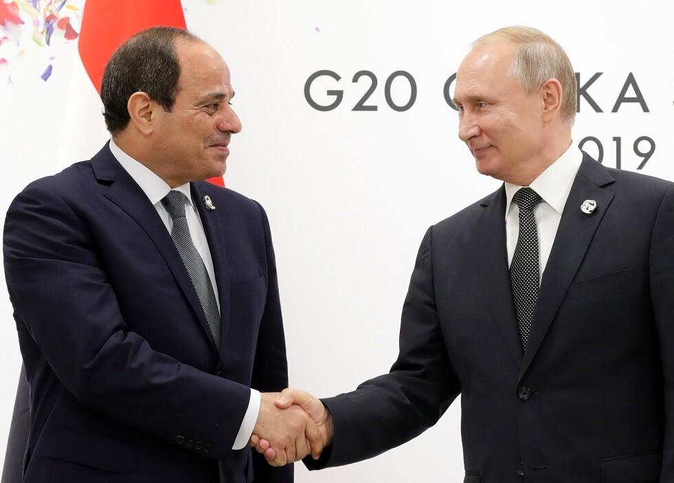 بوتين يلتقي السيسي خلال قمة روسيا-إفريقيا في سوتشي