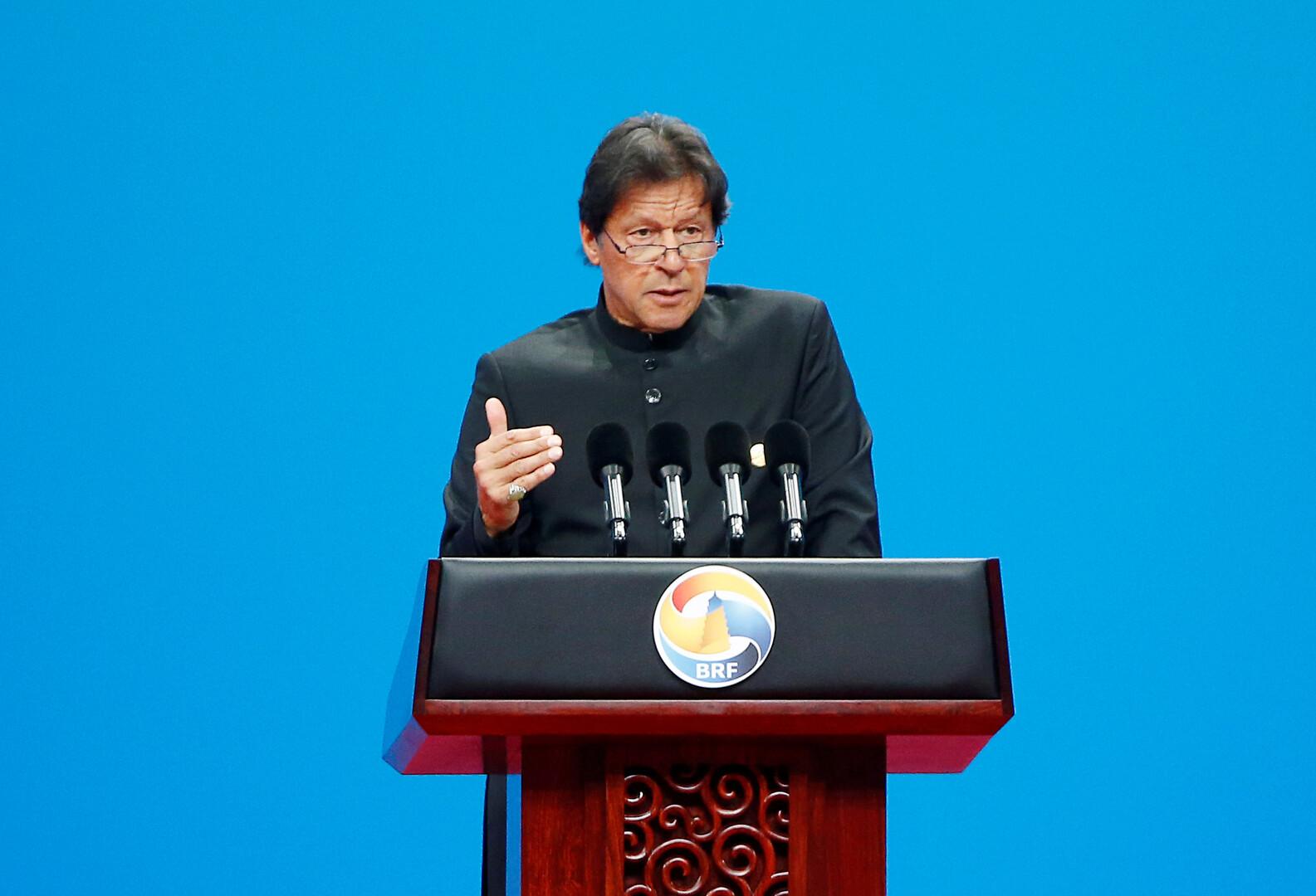 خان ينوي اتهام مودي من منبر الأمم المتحدة بممارسة الإرهاب في كشمير