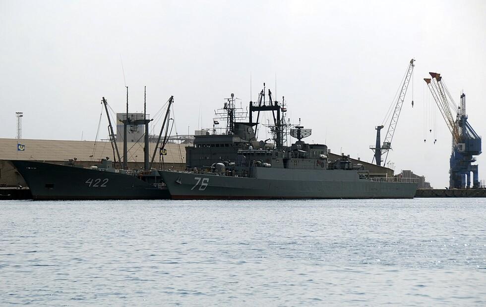 استعراض عسكري إيراني في الخليج بمناسبة أسبوع