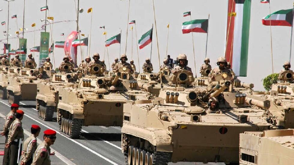الأركان العامة للجيش الكويتي ترفع حالة الاستعداد القتالي
