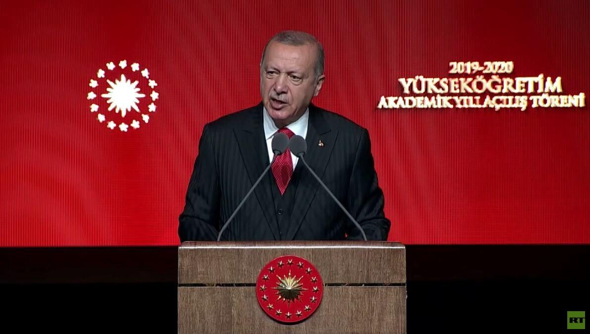 أردوغان يهدد بتفعيل خطة المنطقة الآمنة
