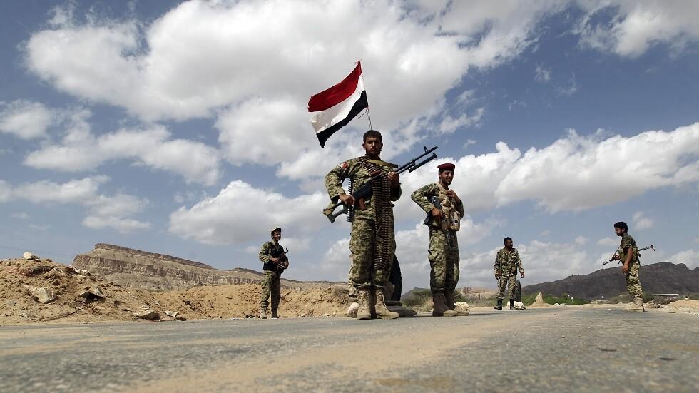 قوات موالية للرئيس اليمني عبد ربه منصور هادي في محافظة أبين (صورة من الأرشيف)