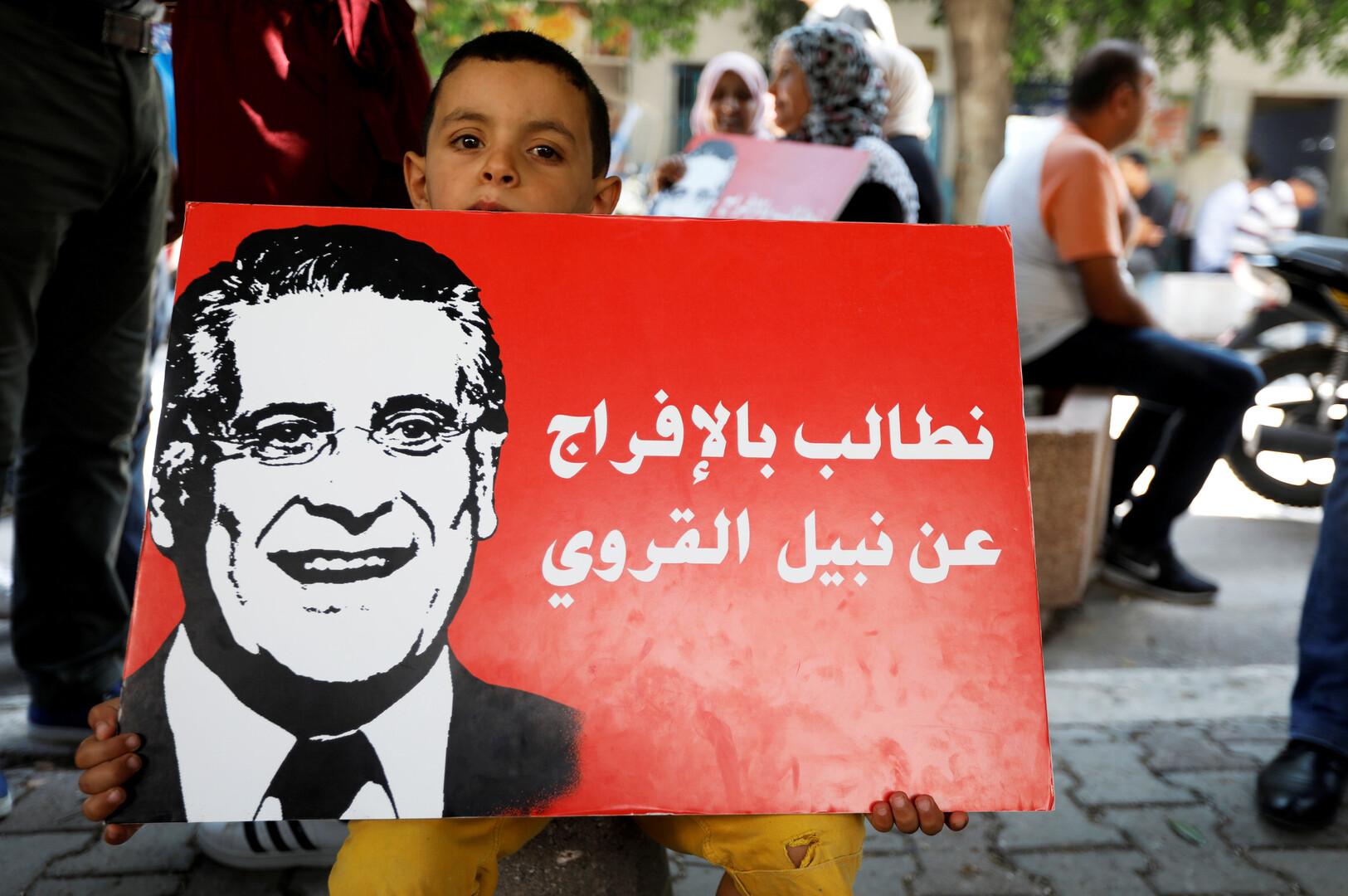 تصريحات نارية للمرشح الرئاسي التونسي المسجون