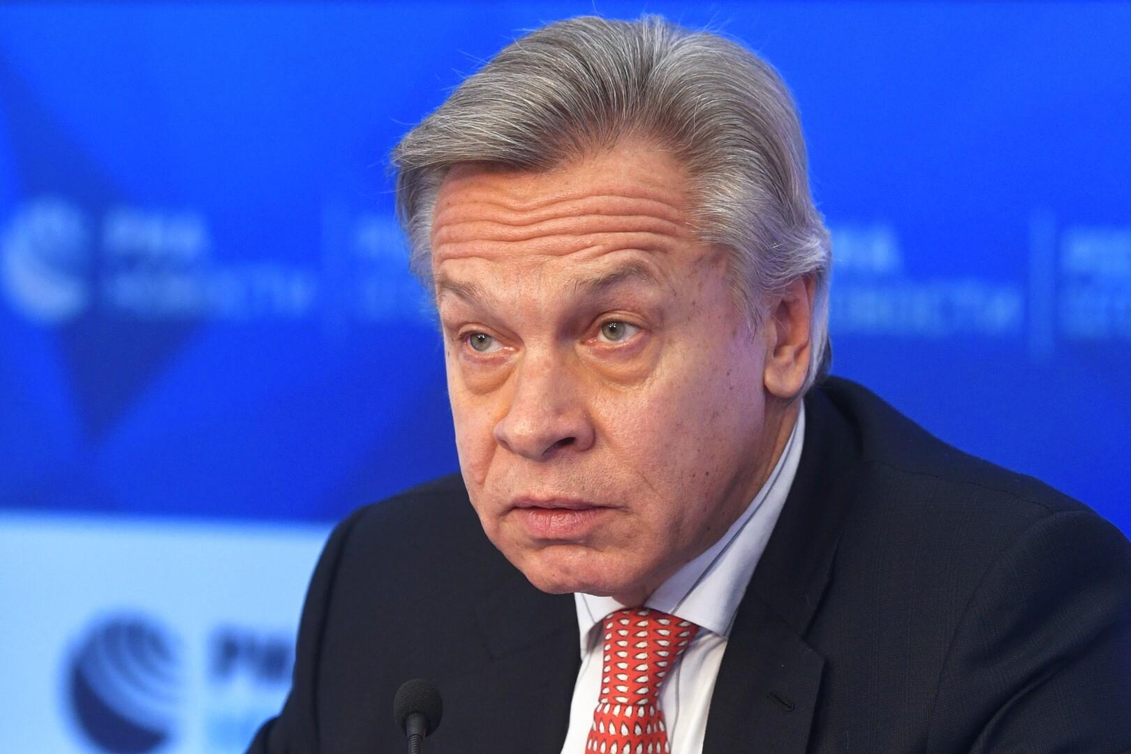 السيناتور الأمريكي ألكسي بوشكوف