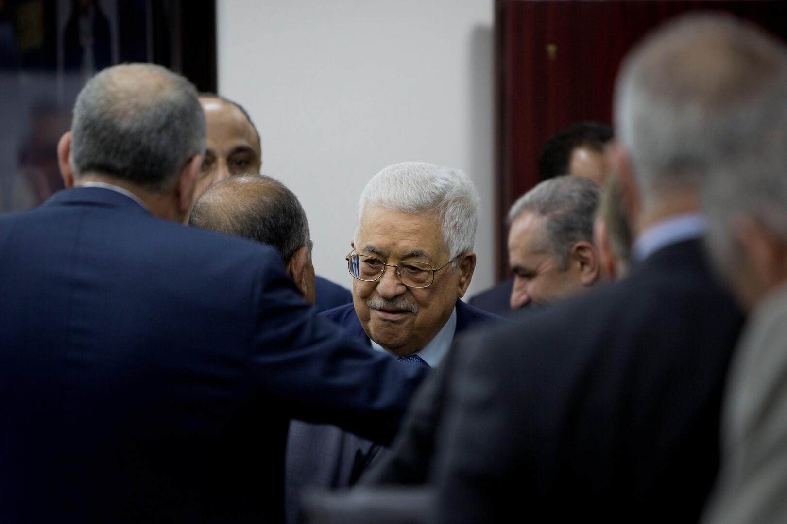 عباس يؤكد رفض الفلسطينيين لحكومة إسرائيلية جديدة برئاسة نتنياهو