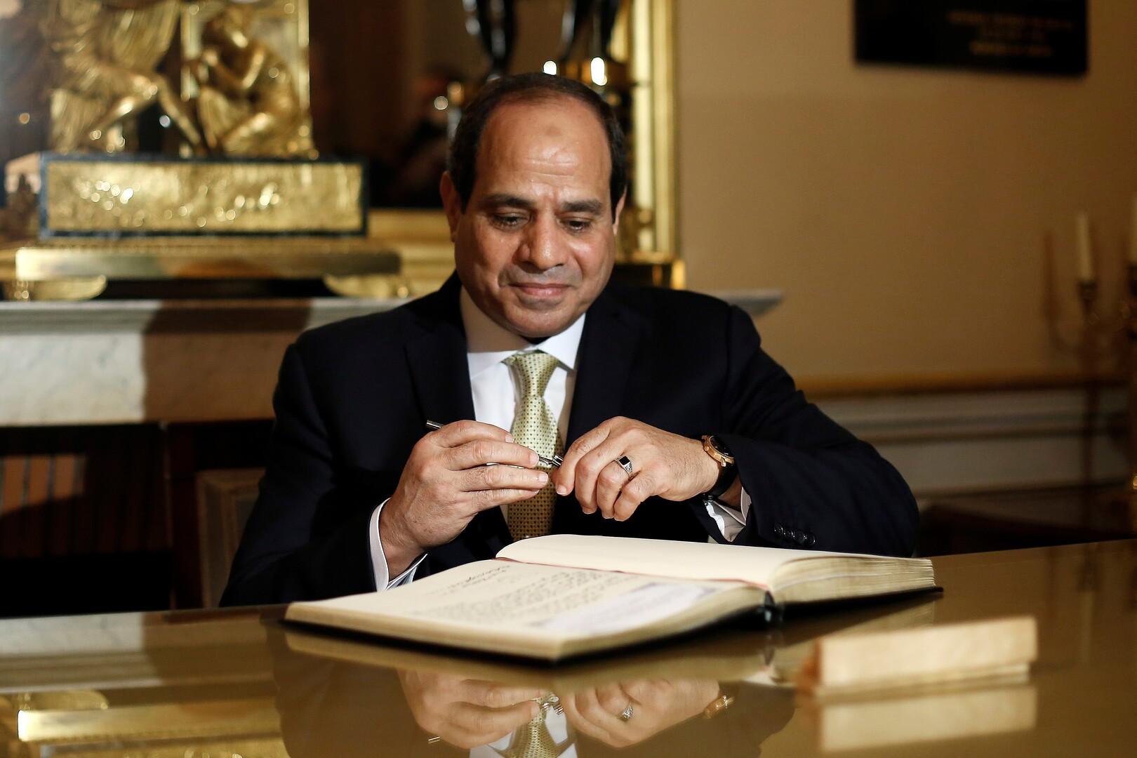 مصر.. السيسي يوافق على قرض جديد -
