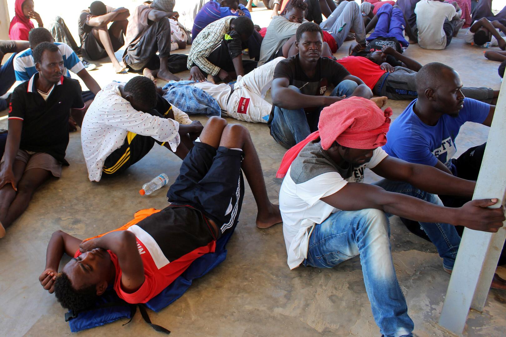 خفر السواحل الليبي ينقذ قرابة 500 مهاجر غير شرعي