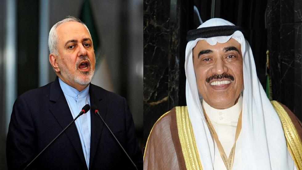 وزيرا الخارجية الكويتي والإيراني يبحثان تهدئة التوتر في المنطقة