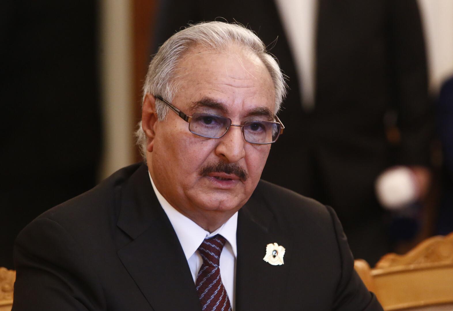 حفتر يلتقي السفير الأمريكي لدى ليبيا في الإمارات