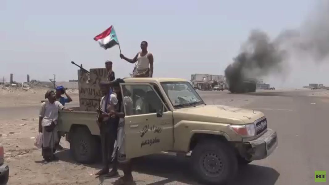 التحالف يعلن قصف مواقع شمالي الحديدة