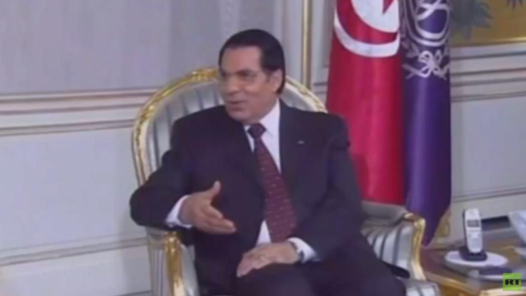 وفاة زين العابدين بن علي -