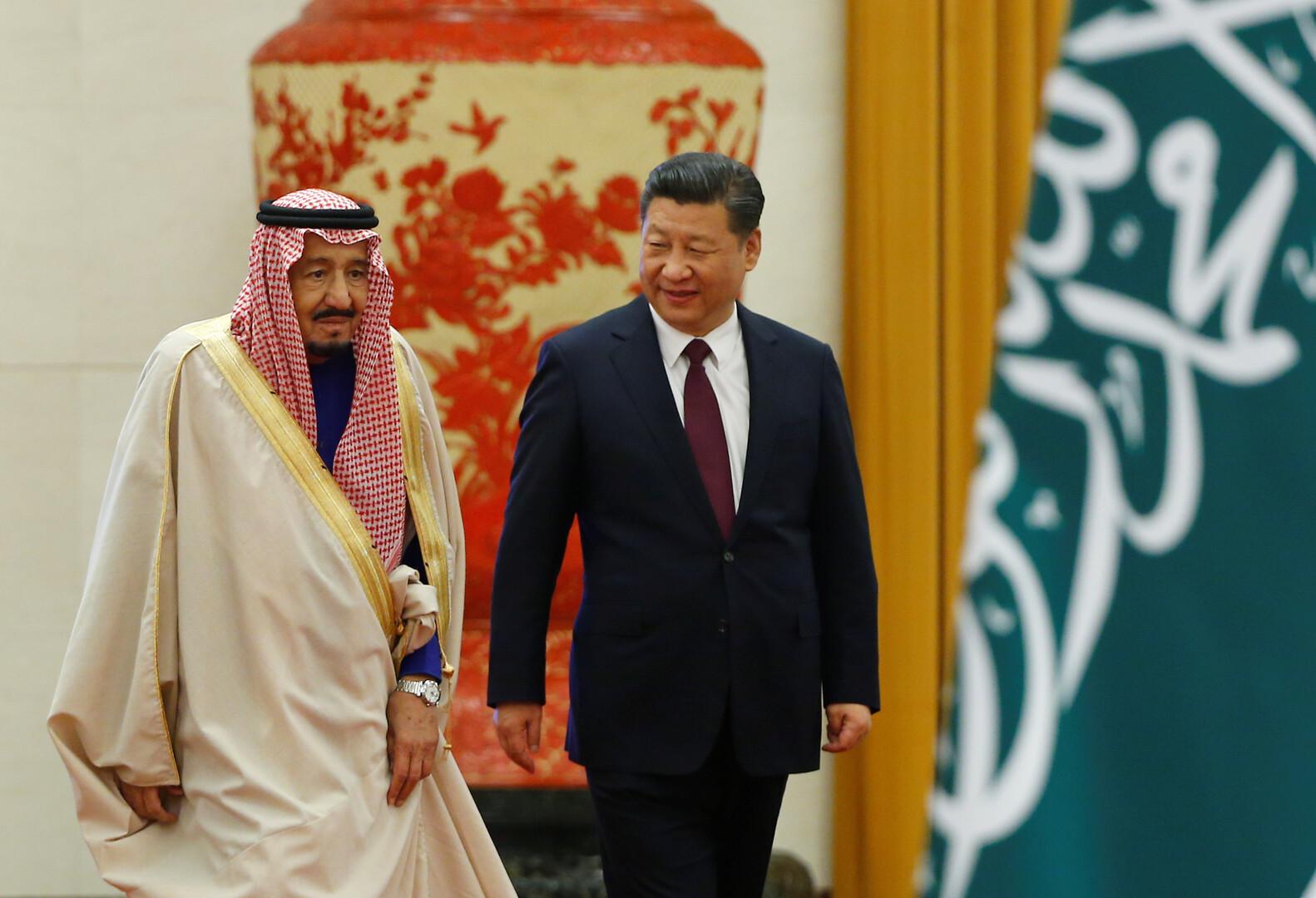 الرئيس الصيني يتصل بالعاهل السعودي عقب هجوم