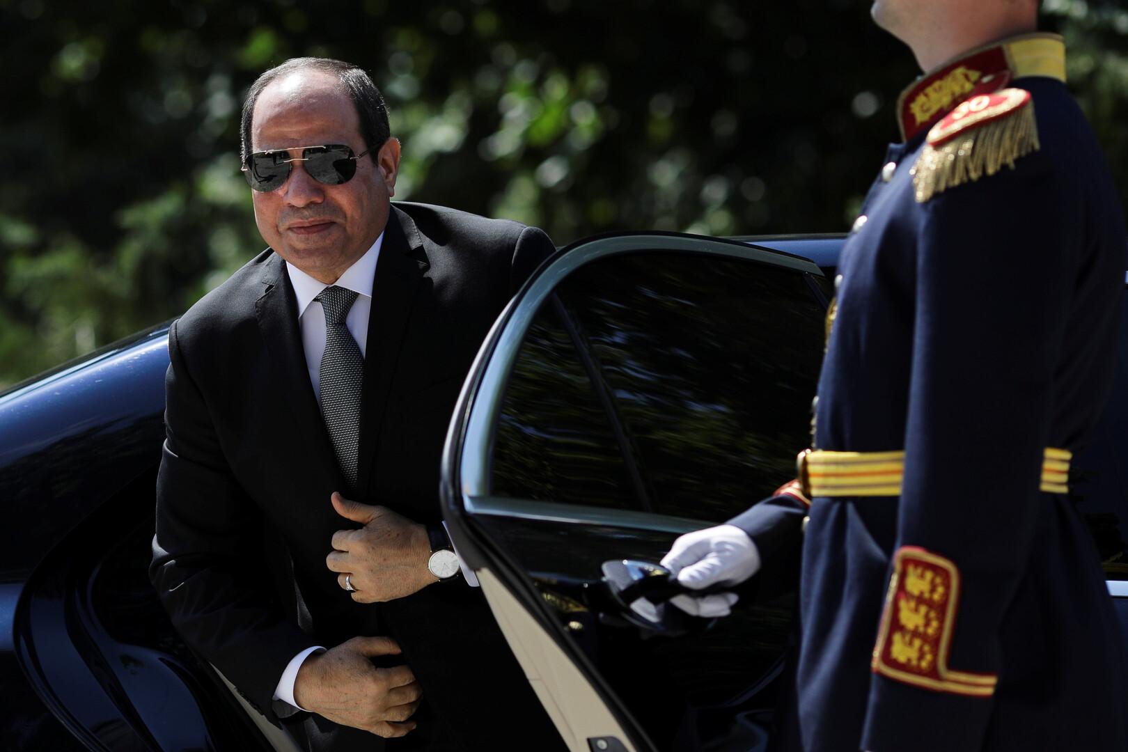 السيسي يغادر مصر متوجها إلى نيويورك للمشاركة في الجمعية العامة للأمم المتحدة