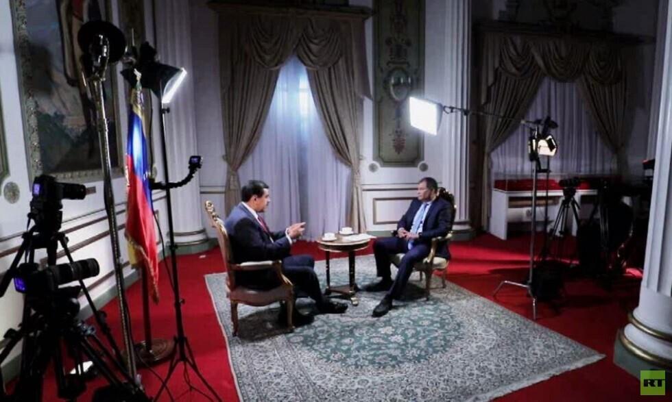 الرئيس يحاور.. مع الرئيس الفنزويلي نيكولاس مادورو