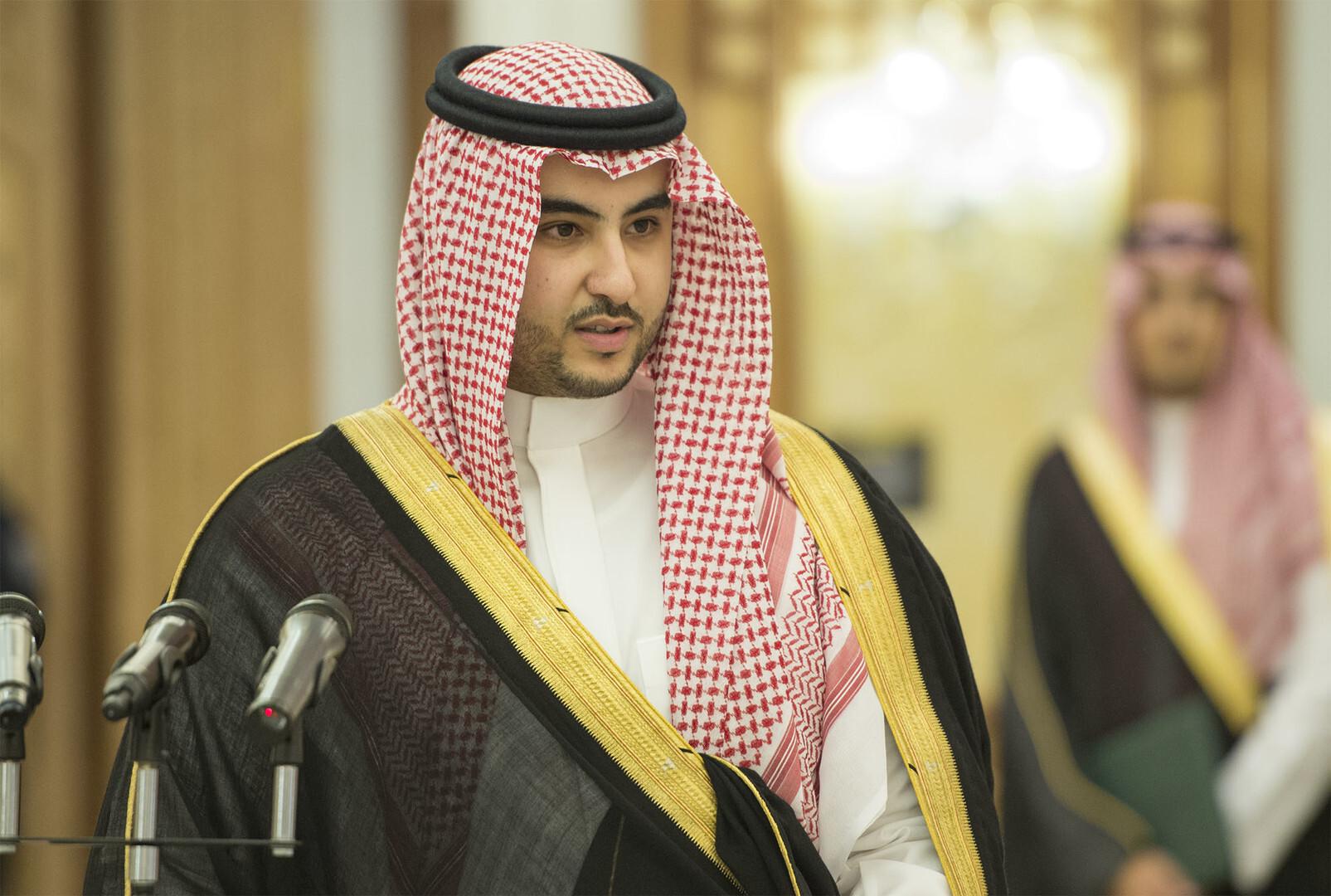 خالد بن سلمان يوجه